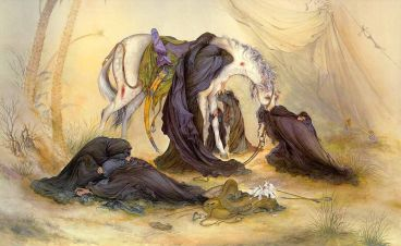 عاشورا، بزرگترين تابلوي هنري عالم است