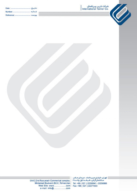 طراحی کاتالوگ,چاپ کاتالوگ,طراحی و چاپ کاتالوگ,فروش سررسیدطراحی لوگو و سربرگ شرکت تاریر